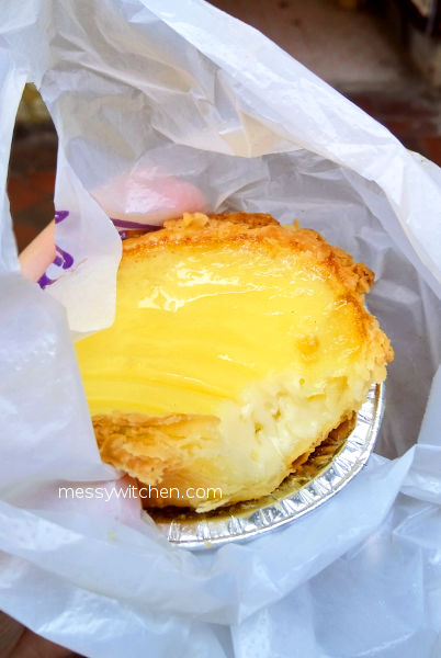 Egg Tart @ Happy Cake Shop, Hong Kong