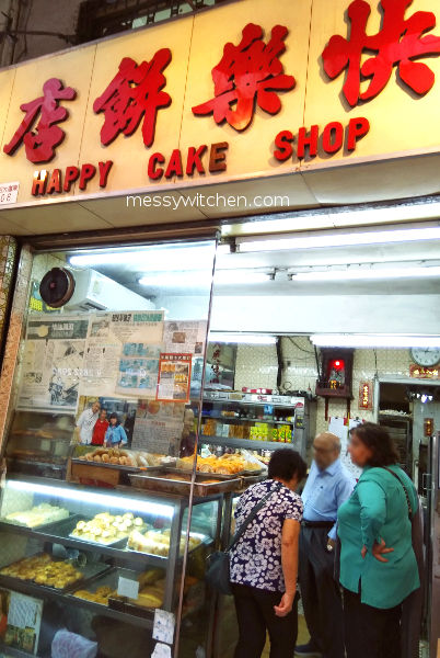 Happy Cake Shop @ Wan Chai, Hong Kong