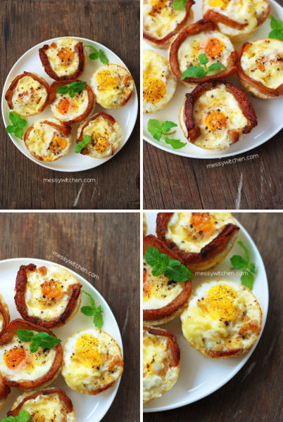 All-Day Cheddar Bacon Egg Muffin Cups