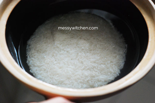 Rice In Claypot
