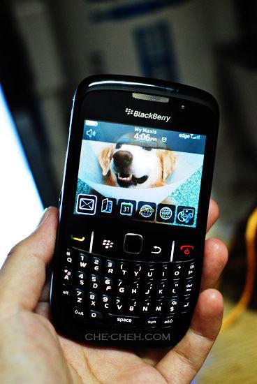 Blackberry Curve 8520 My 8th Handphone Che Cheh