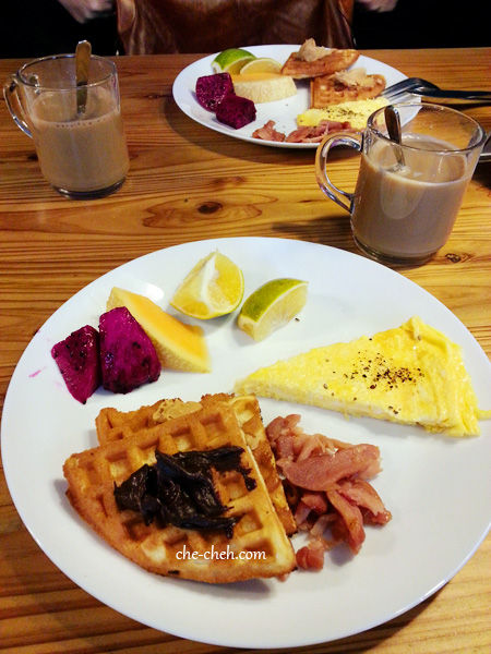 Breakfast At Star Cafe @ Star Hostel, Taipei