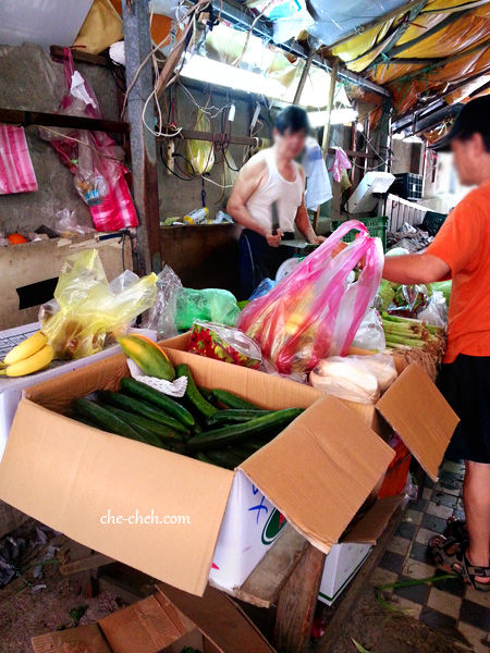 Vegetables & Fruits Stall @ Huayin Street, Taiwan