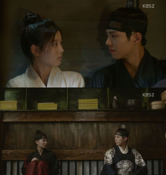 The Staring in Moonlight Drawn by Clouds