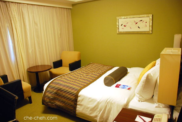 Double Room @ Ana Crowne Plaze Osaka