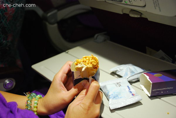 Snack Time @ MAS Osaka Flight