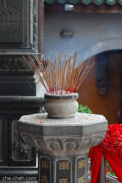 Incense Sticks @ Kuan Yin Temple, Klang