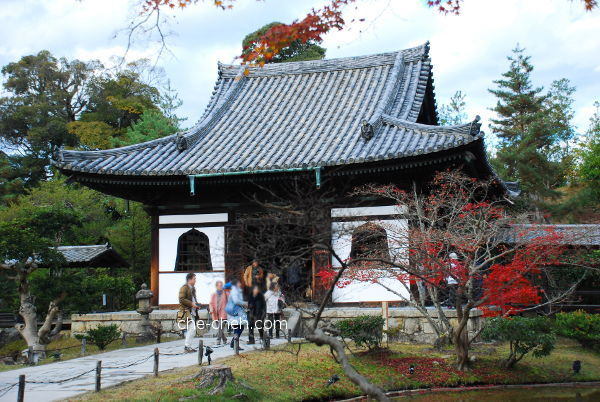 Kangetsu-dai 観月台 (Moon Viewing Pavilion), Kaizan-do 開山堂 (Founder's Hall) & Garyoro 臥龍廊 (Reclining Dragon Corridor) @ Kodai-ji, Kyoto