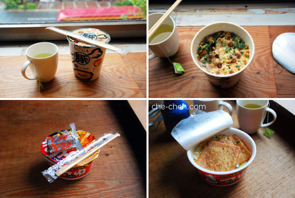 Instant Noodles Breakfast @ Kyoto