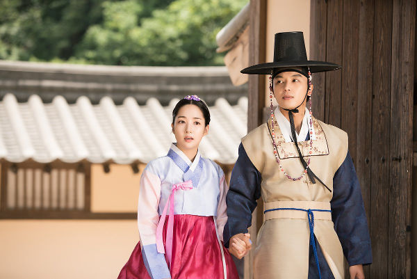 Park Min Young As Shin Chae Kyung & Yeon Woo Jin As Lee Yeok In Queen For Seven Days