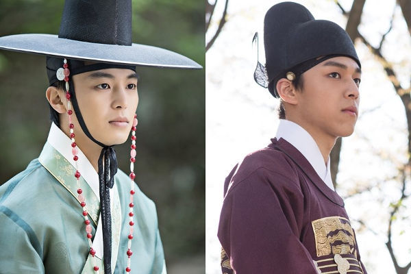 Yeon Woo Jin & Baek Seung Hwan As Lee Yeok In Queen For Seven Days
