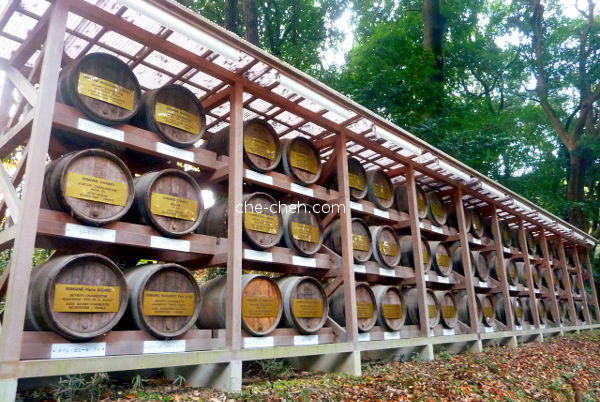 Provenance Of The Bourgogne Wine For Consecration At Meiji Jingu @ Tokyo