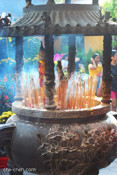 Incense Burner @ Kuan Yin Temple, Klang