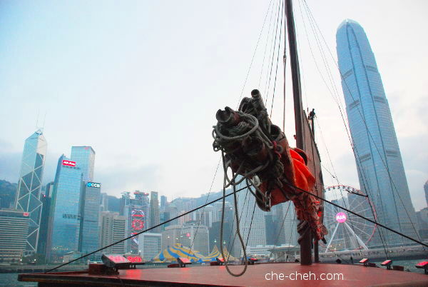 Awesome Views On Board The Junk Ship - Duk Ling @ Hong Kong