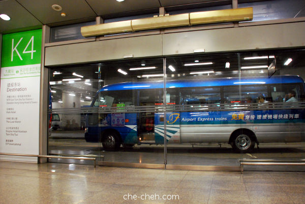 Complimentary Airport Express Shuttle Bus At Kowloon Station