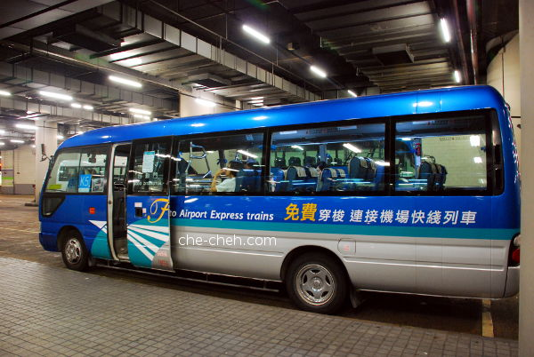 K5 Bus - Complimentary Airport Express Shuttle