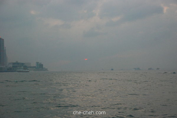 Sunset Seen From Duk Ling @ Hong Kong