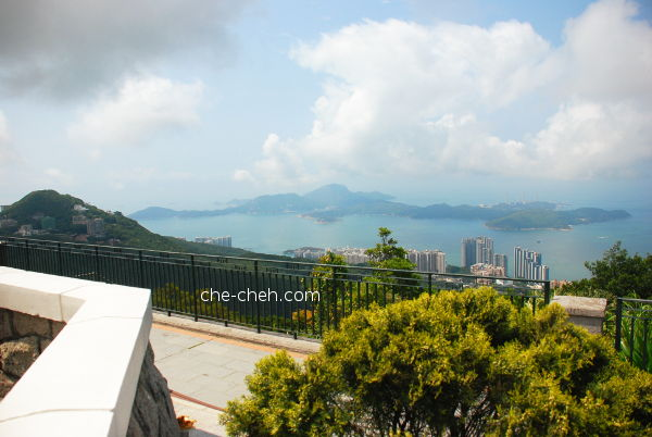 Ocean View At Pavilion Of Victoria Peak Garden @ The Peak, Hong Kong