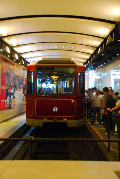 Peak Tram @ Central, Hong Kong
