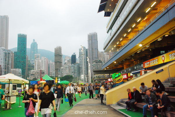 From The Public Entrance @ Happy Valley Racecourse, Hong Kong