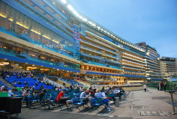 Night View @ Happy Valley Racecourse, Hong Kong