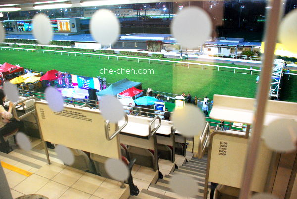 View Of The Racecourse From 2nd Floor @ Happy Valley Racecourse, Hong Kong
