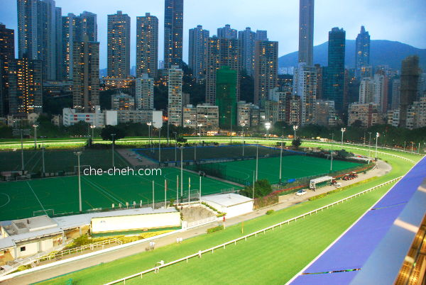 View Of The Racecourse From 6th Floor @ Happy Valley Racecourse, Hong Kong