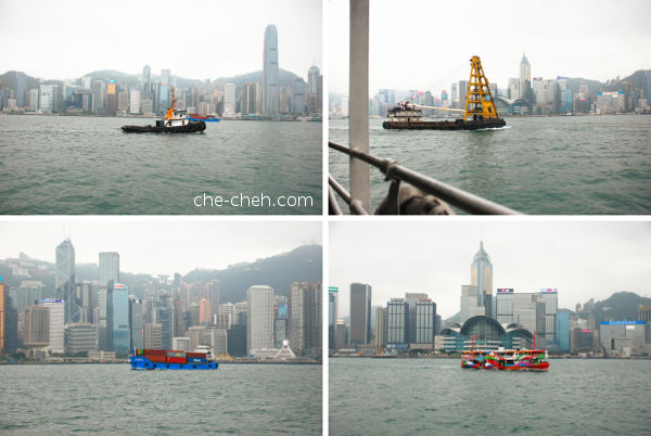 Views Of Victoria Harbor From The Ferry @ Hong Kong
