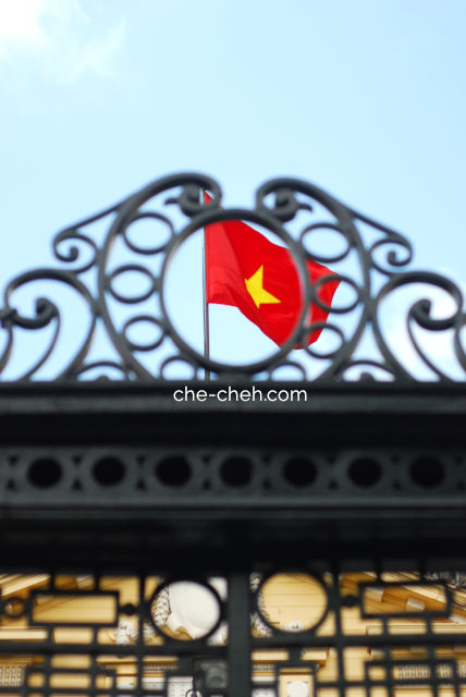 Flag Of Vietnam @ State Guest House (Tonkin Palace), Hanoi