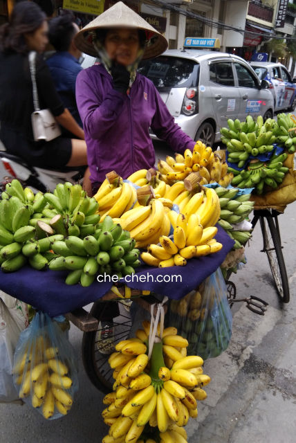 Peddler Selling Banana @ Hanoi