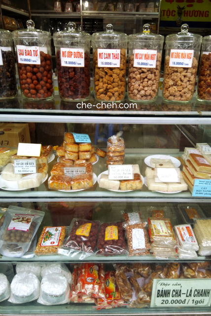 Salted Dried Fruits, Traditional Pastries & Snacks @ Hanoi
